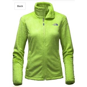 The North Face Osito 2 Soft Fleece Jacket Green